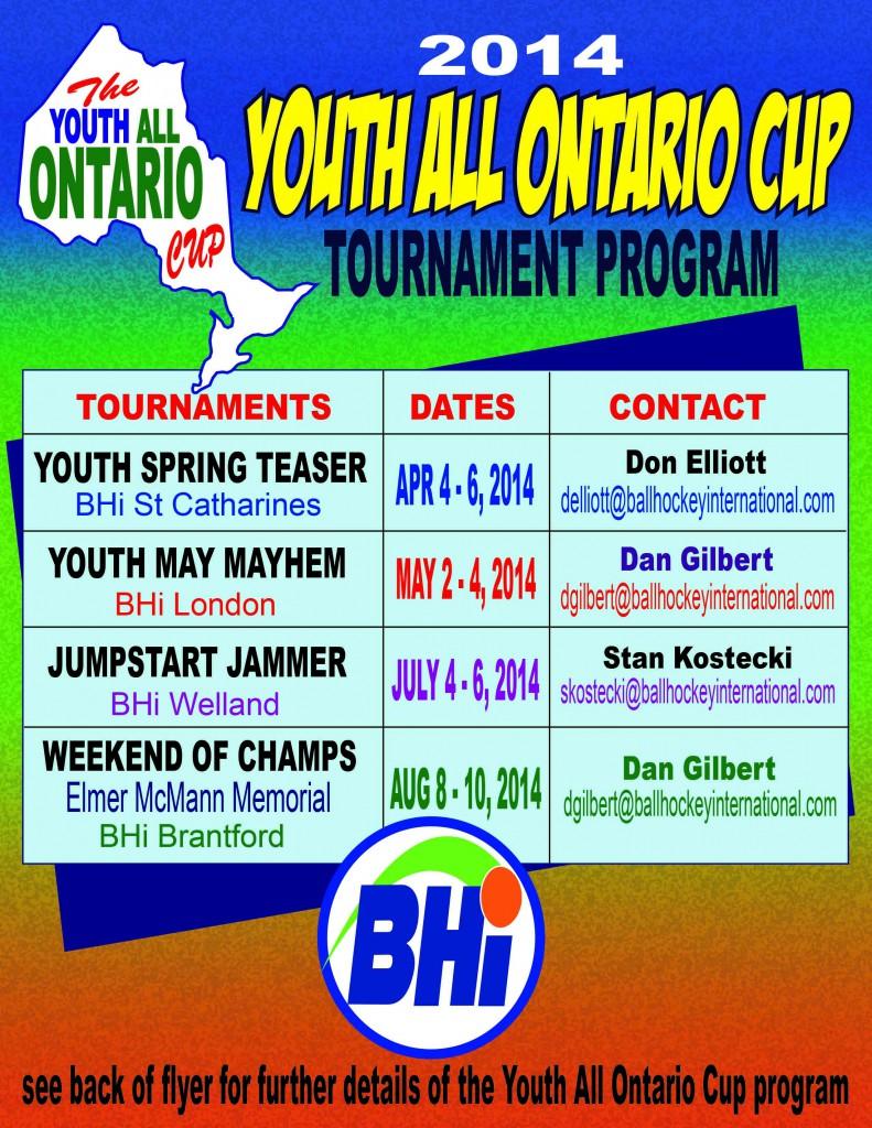 YAOC 2014 Front Flyer