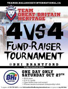 team great britain fundraiser tournament banner