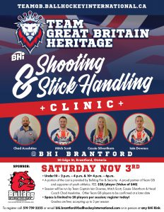 Team Great Britain Youth Training Clinic