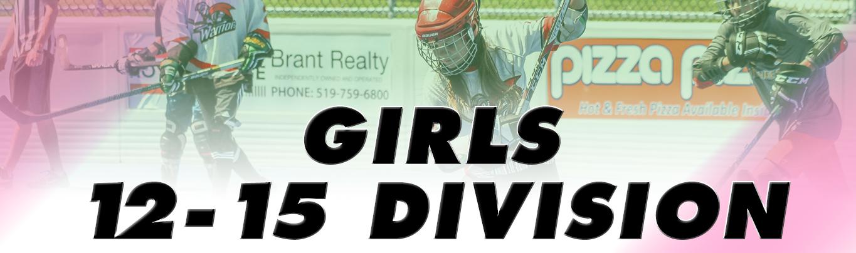 Girls 12 15 Ball Hockey League Bhi Brantford