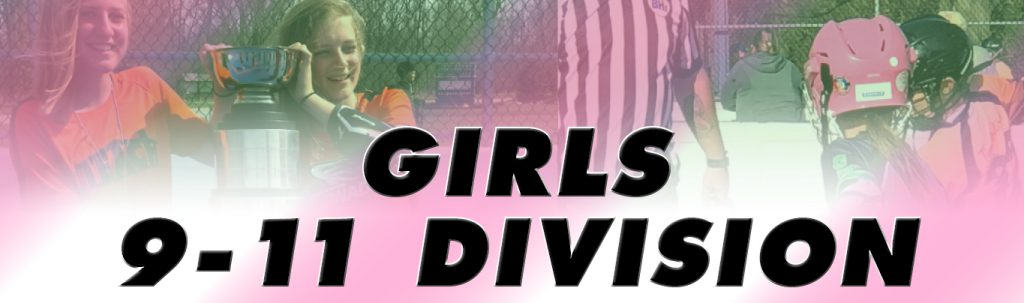 girls age 9-11 ball hockey league