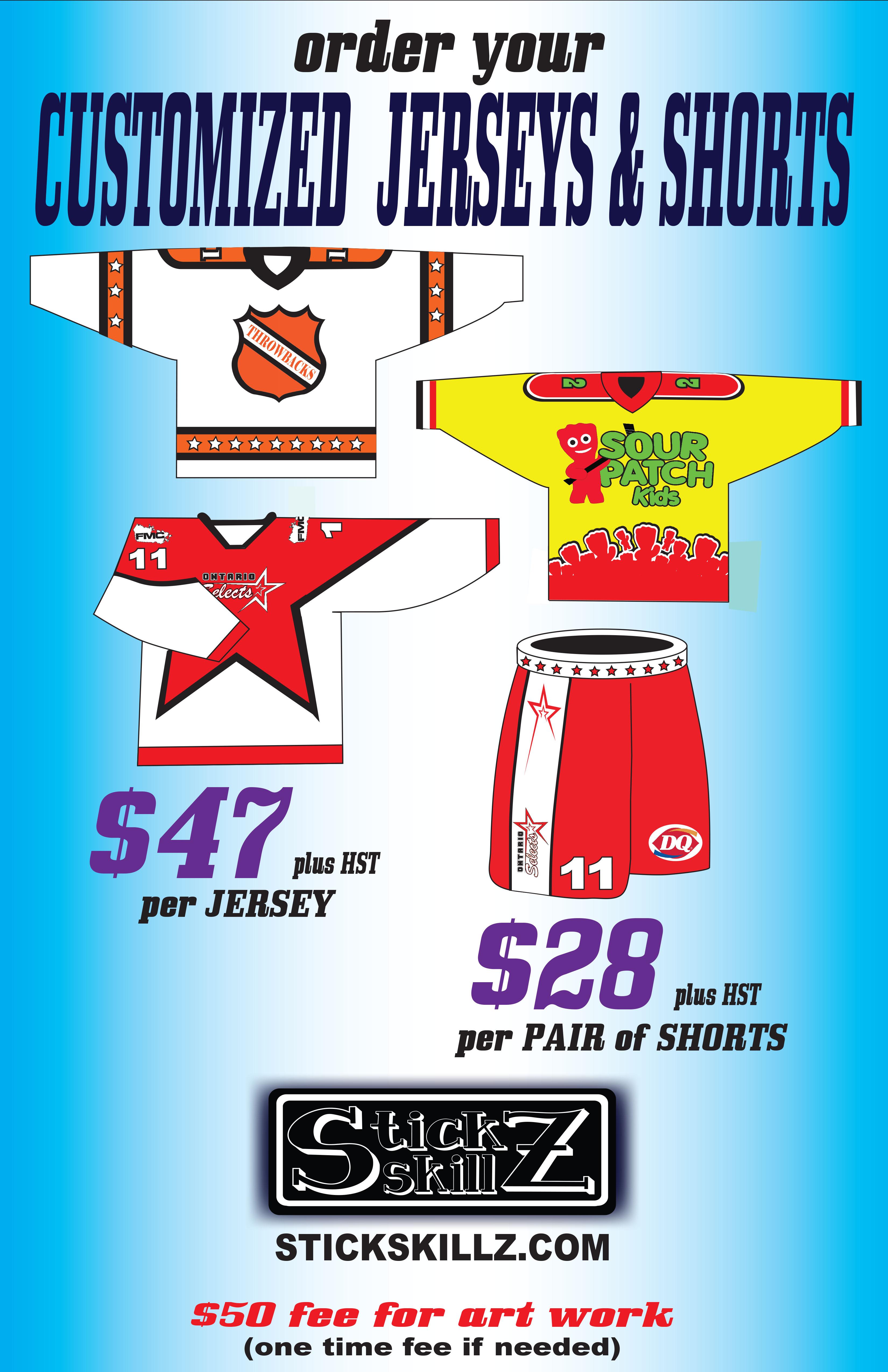 Customized Jerseys Poster