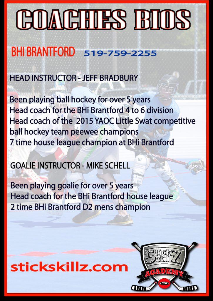 Stick Skillz Academy Post Card Back 2 Brantford